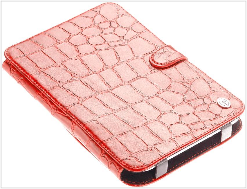 Чехол-обложка для PocketBook 611 Basic Time крокодил