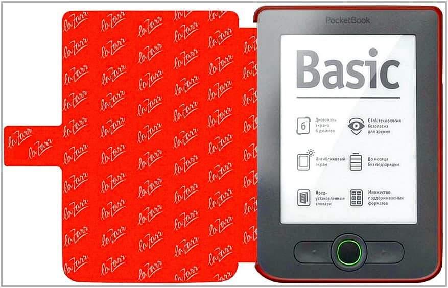 Чехол-обложка для PocketBook 613 Basic LaZarr Poсket Case