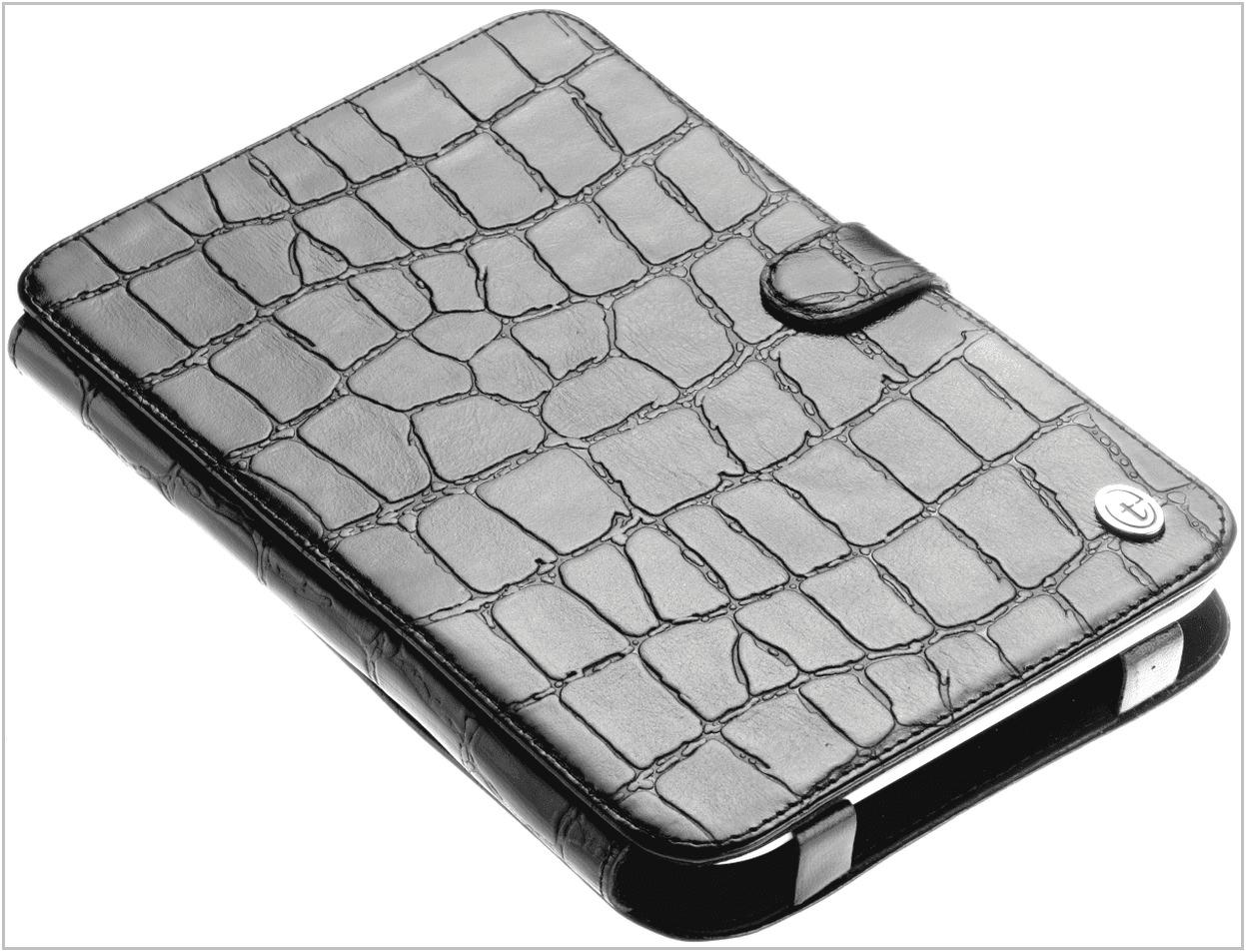 Чехол-обложка для PocketBook 613 Basic New Time размер с крокодил
