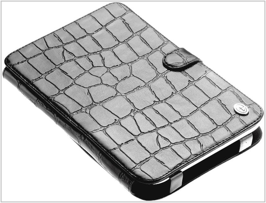 Чехол-обложка для PocketBook 613 Basic Time крокодил