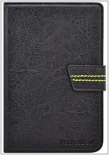 Чехол-обложка для PocketBook 614 Vivacase VPB-FP622Bl