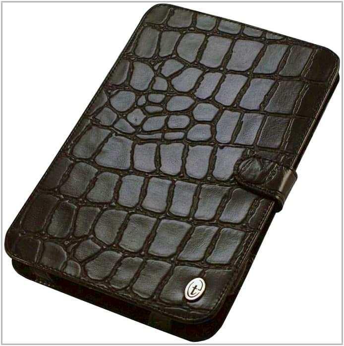 Чехол-обложка для PocketBook A 10 Time крокодил на резинках