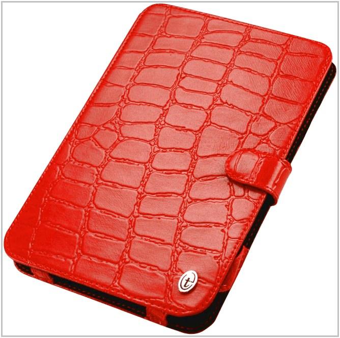 Чехол-обложка для PocketBook A 7 3G Time крокодил