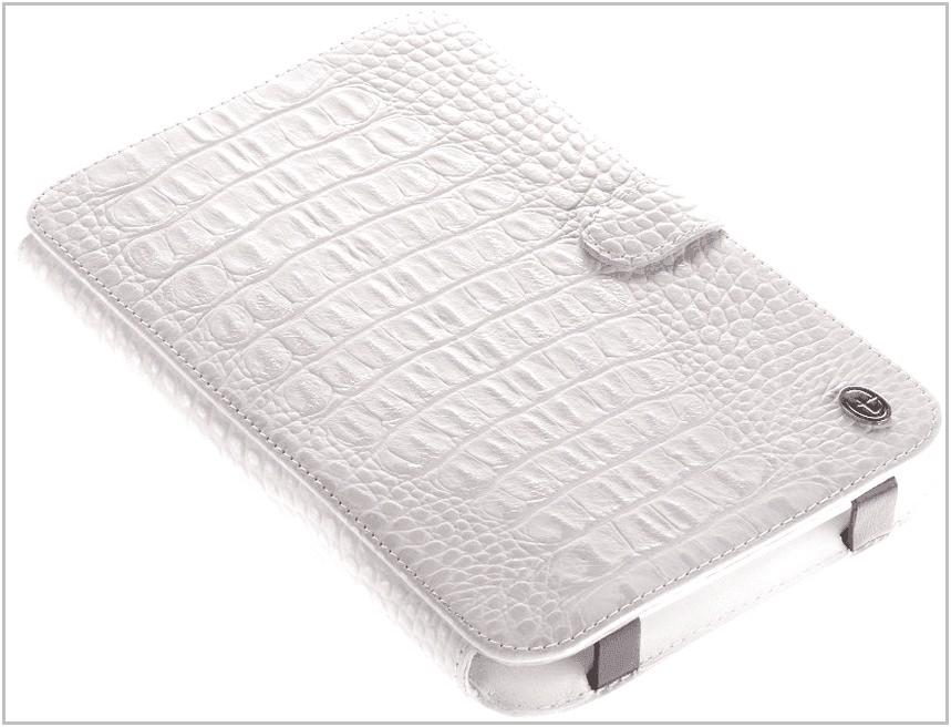 Чехол-обложка для PocketBook Touch 622 Time крокодил