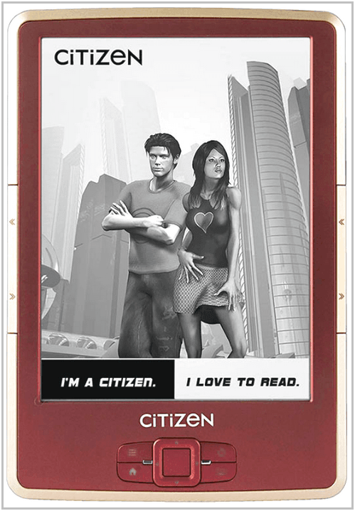 Электронная книга Citizen Reader E620