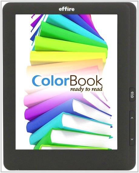 Электронная книга Effire ColorBook TR802