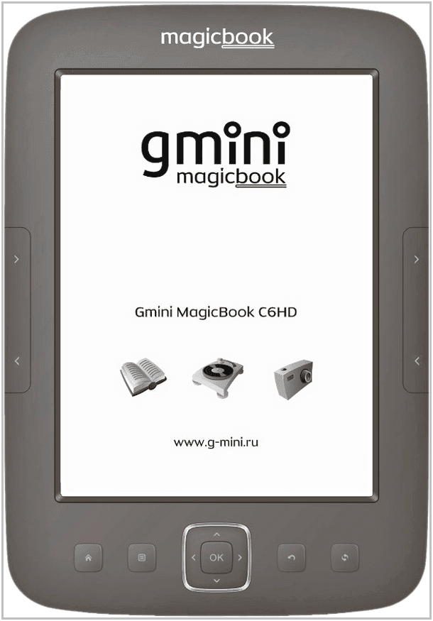 Электронная книга Gmini MagicBook C6HD