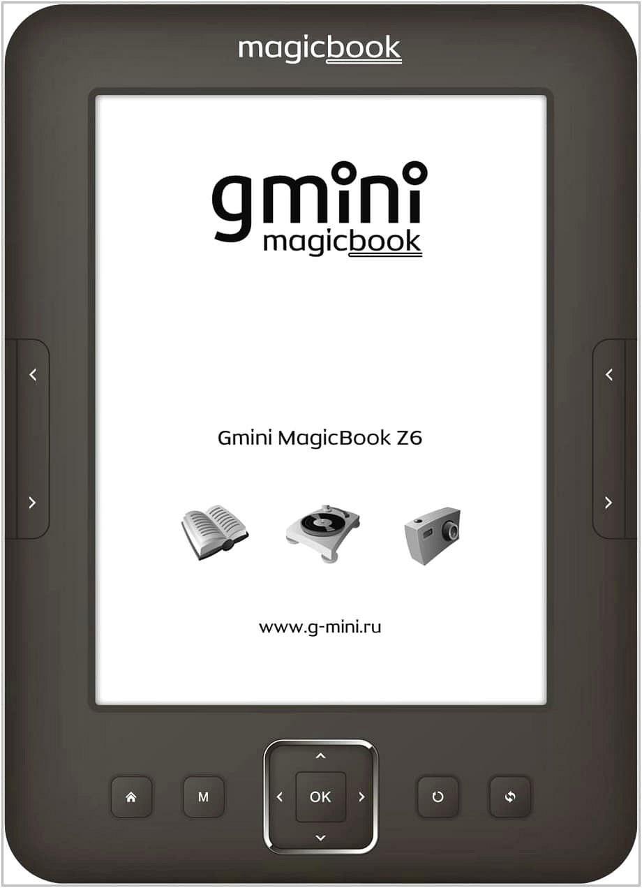 Электронная книга Gmini MagicBook Z6