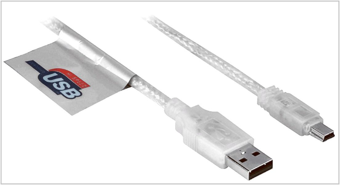 USB кабель для HAMA H-41533 miniUSB