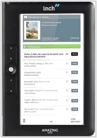 Электронная книга Inch M7b