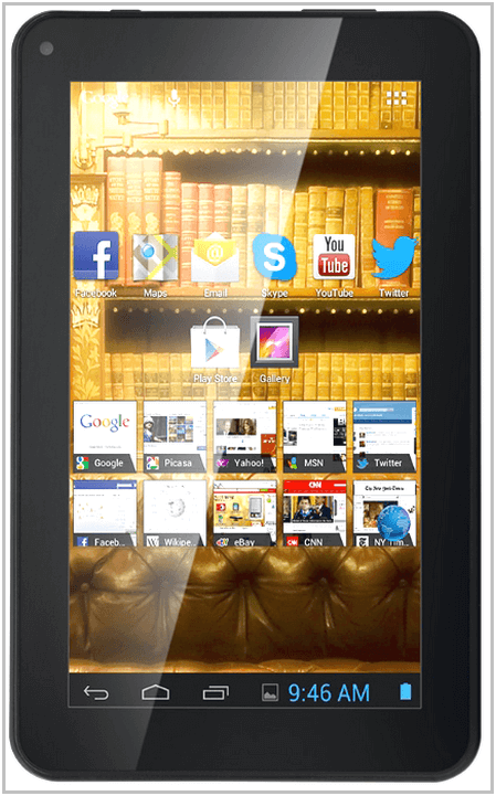 Электронная книга Prestigio MultiReader 5274 PER5274B