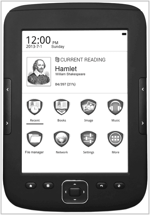 Электронная книга Prestigio MultiReader Supreme PER5664BC