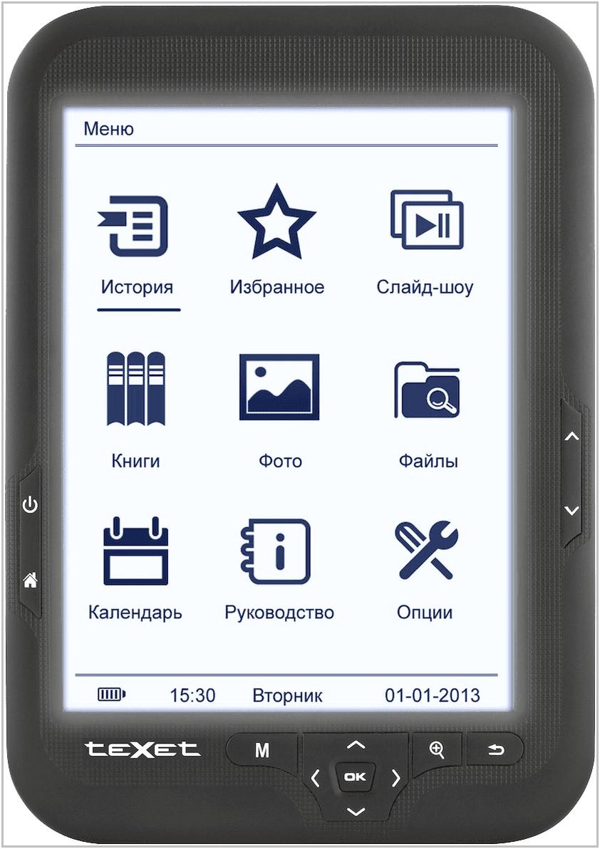 Электронная книга TeXet TB-416FL