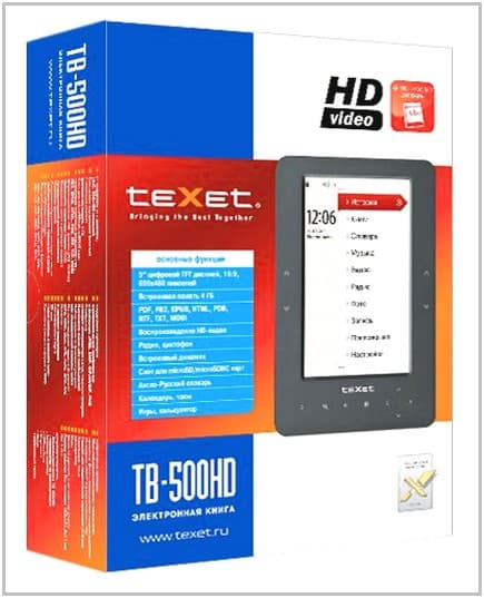 TeXet TB-500HD