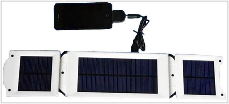 Зарядное устройство на солнечных батареях для Ritmix RBK-470 Safeever SA-006
