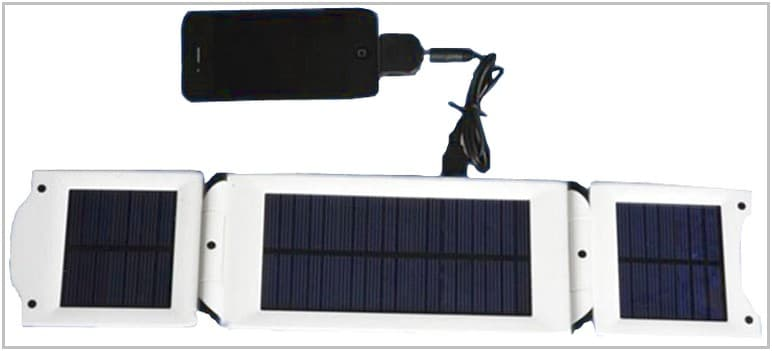 Зарядное устройство на солнечных батареях для TeXet TB-710HD Safeever SA-006