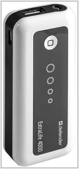 Зарядное устройство c аккумулятором для Amazon Kindle Paperwhite Defender ExtraLife 4000