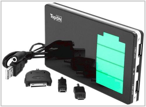 Зарядное устройство c аккумулятором для PocketBook 613 Basic TopON TOP-DUOS