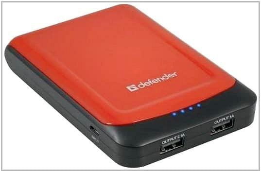 Зарядное устройство c аккумулятором для PocketBook A 7 Defender ExtraLife 10400