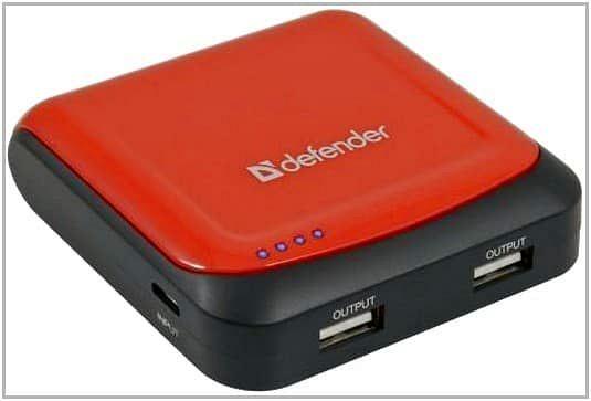 Зарядное устройство c аккумулятором для PocketBook Touch 622 Defender ExtraLife 5200