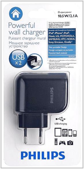 Зарядное устройство для TeXet TB-707A Philips DLP2207/12
