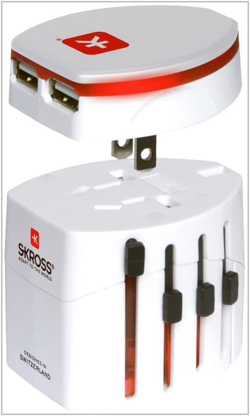 Зарядное устройство для Wexler Book T7008 SKROSS World Adapter EVO USB