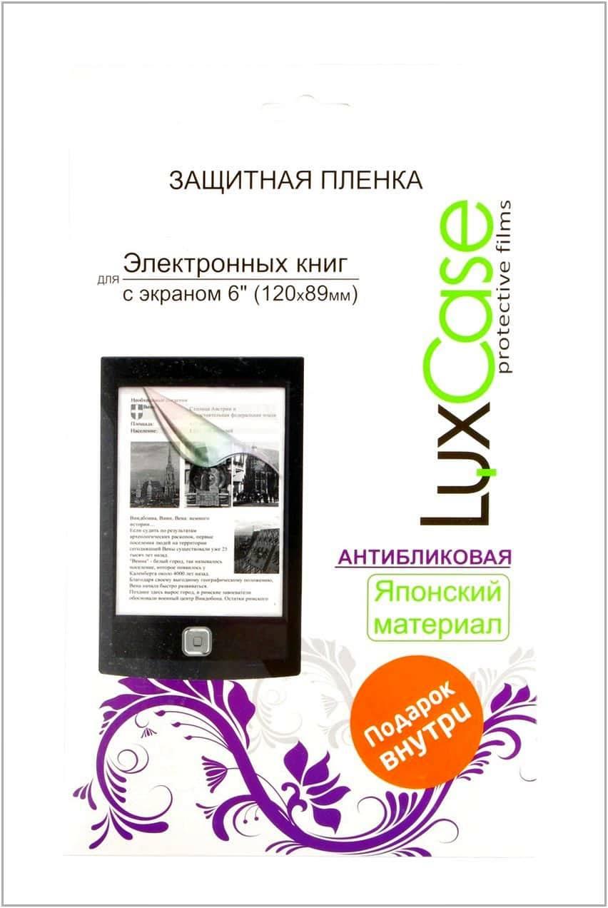 Защитная плёнка LuxCase 6 дюймов антибликовая