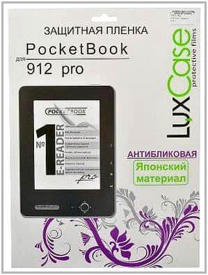 Защитная плёнка для PocketBook Pro 912 LuxCase антибликовая